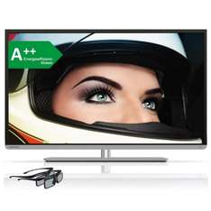 Toshiba 48L5441DG 3D LED TV, Triple-Tuner, Smart TV, WLAN für 479 € (-9%)