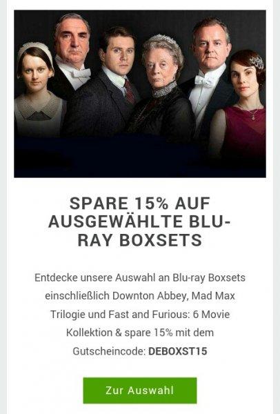 SPARE 15% AUF AUSGEWÄHLTE BLU-RAY BOXSETS zB Downton Abbey, Mad Max Trilogie und Fast and Furious: 6 Movie Kollektion auf zavvi.de ab 7,73€