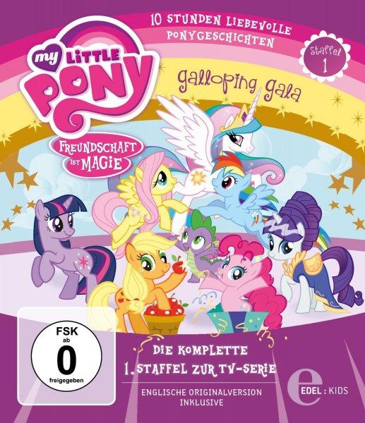 [Blu-ray] My Little Pony: Freundschaft ist Magie - komplette Staffel für 25,99