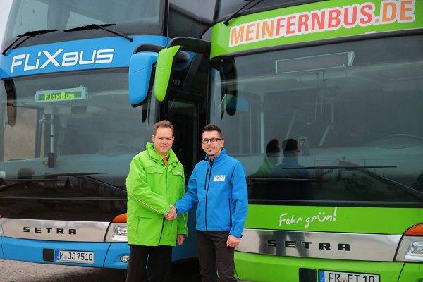 111.000 Schnäppchentickets für 11€ - für Fahrten bis Ende Januar - Flixbus und MeinFernbus sind jetzt eins
