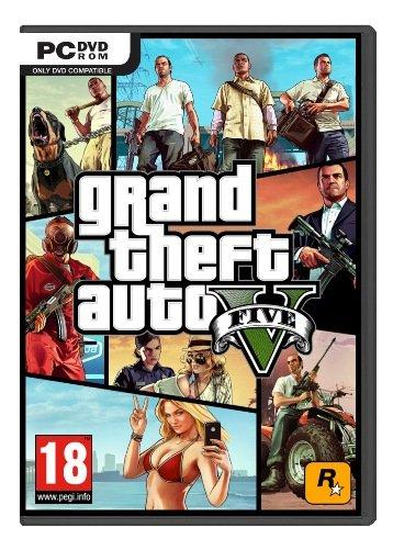 GTA V - PC Grand Theft Auto 5 Vorbesteller Boxed Version