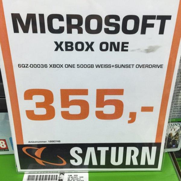 Xbox One Weiß Sunset Overdrive Bundle (Lokal Aachen)