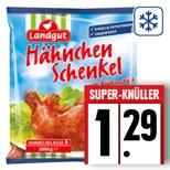 [EDEKA] Edeka-Region Minden-Hannover 1KG Hähnchen Schenkel mit Rückenstück 1,29€/KG