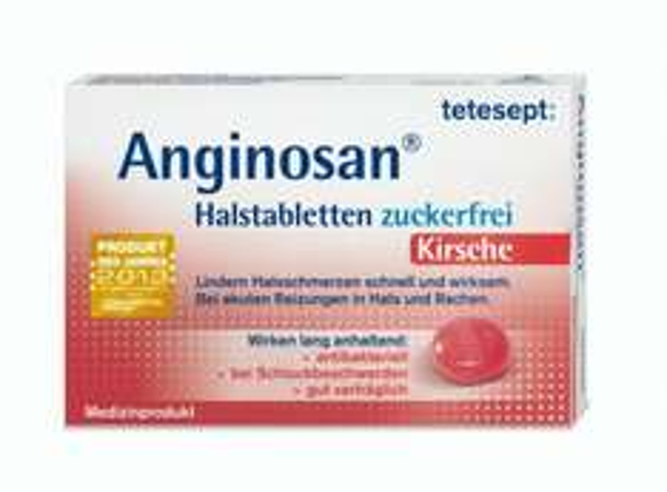 [CITTI] Tetesept Anginosan zuckerfreie Halstabletten Kirsche/Minze 20 Stück für 1,49€ (Angebot+Coupon)