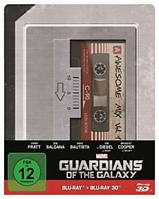 Guardians of the Galaxy 3D+2D Steelbook [Blu-ray] für 23€ @Weltbild
