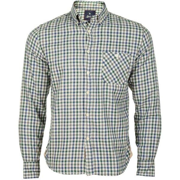 Frank NY Pocket Checked Hemden nur S Größe