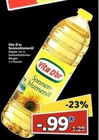 [LIDL] Sonnenblumenöl 1L für 0,99 € am Supersamstag (17.01.2015)