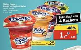 [LIDL] Froop Joghurt 4 Stück für 1 € (12.01-17.01.)