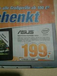 Asus Tablet-PC Memo Pad ME302C-1AO53A (Expert Bening-Lokal) - Idealo 282€