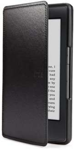 [Amazon WHD] Amazon Kindle Lederhülle, Schwarz [nur geeignet für Kindle (5. Generation)] - PRIME
