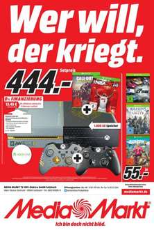 Xbox One Advance Warfare Edition + NBA 2K14 + Call of Duty Advance Warfare + 2Controller LOKAL MM Main Taunus Zentrum (Sulzbach)