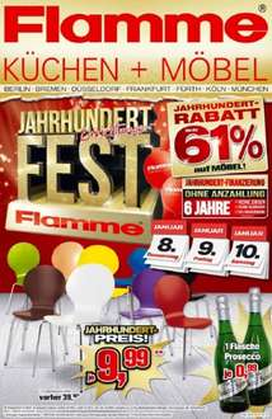Stapelstuhl für 9,99 Euro bzw. 12,99 Euro - Flamme Möbel
