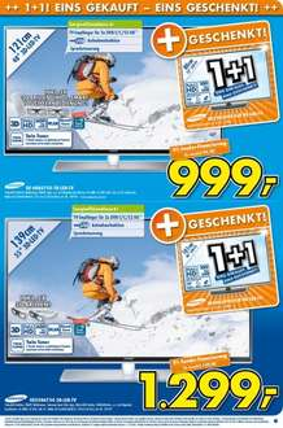 (Euronics Mülheim-Kärlich)UE55H6750 + UE40H5090
