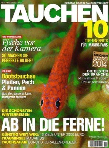 Zeitschrift Tauchen für 74,40€ inkl. 65€ Universalgutschein von ShoppingBon