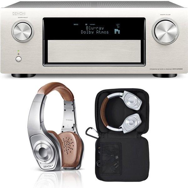 Soundpick: Denon AVR-X4100W und Denon AH-NCW500 - wieder verfügbar, diesmal in silber