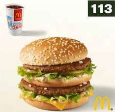 1 Big Mac + 0,4 l Softdrink bei McDonald's (ab 12.01.2015)