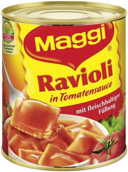 (Lokal Raum Berlin ggf. Bundesweit) MAGGI Ravioli 800g Dose (Pikante Sauce oder Tomatensauce) @ Penny