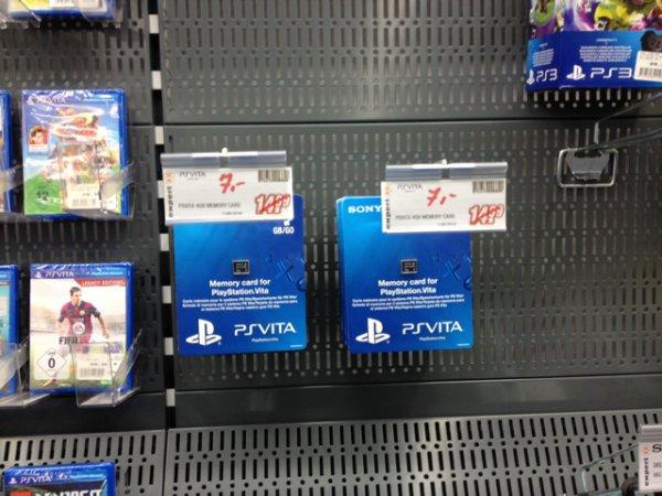 PS Vita Speicherkarte 4 GB Neu Lokal