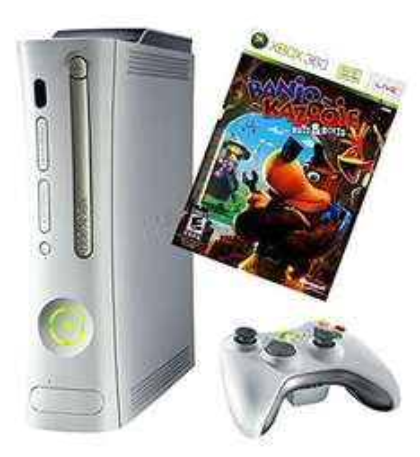 [WHD - Gebraucht - Gut] 1 x Xbox 360 - Konsole Arcade inkl. Banjo Kazooie