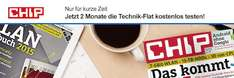 CHIP-Aktion: 2 Monate kostenlose Technik-Flat