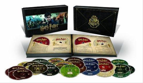 Harry Potter Harry Potter Hogwarts Collection [Blu Ray] mit 31 Discs inkl. Vsk für 16,53 € > [amazon.fr] > Preisfehler ?