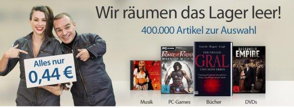 reBuy.de - 400.000 Artikel für 0,44 € zzgl. Versand 3,99 €