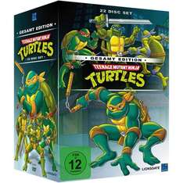 Teenage Mutant Ninja Turtles - Gesamt Edition (22 Discs) @EMP für 31,84€
