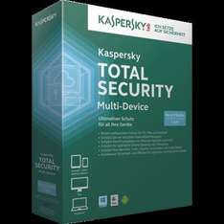 Kaspersky Total Security Multi-Device (3 Geräte) (1 Jahr) (DE) (Win)  für 29,95+4,95 VSK@ZackZack