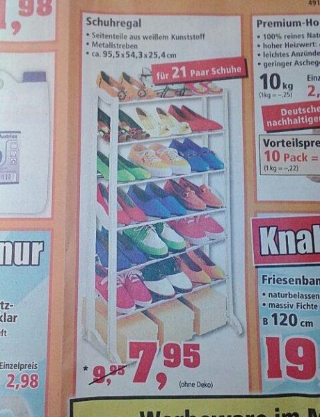 [Thomas Philipps : Dessau-Roßlau] Schuhregal für 21 Paar Schuhe (bundesweit?)