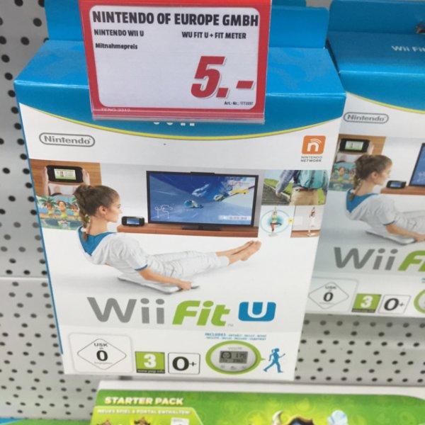 Wii Fit U inkl. Schrittzähler bei MM in Henstedt-Ulzburg
