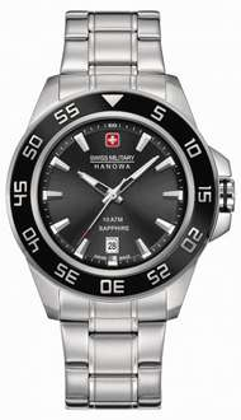 [Amazon.co.uk] Swiss Military Saphirglas Herren-Armbanduhr 80€