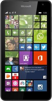 Microsoft Lumia 535 CW Single-SIM - 5 Zoll - [Bundesweit] @ SATURN für 79 €