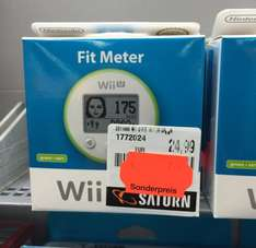 Wii U Fit Meter 2,99€ in allen Farben (LOKAL SATURN MÜNSTER)
