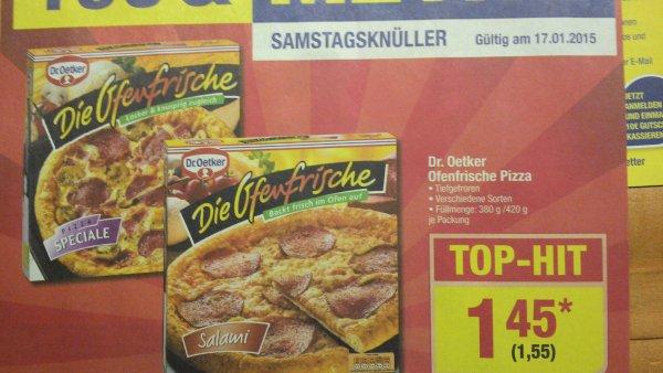 """[Metro] Dr. Oetker """"Die Ofenfrische"""" Pizza für 1,55 an diesem Samstag"""