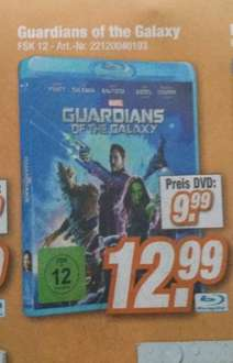 [HEM expert] Guardians of the Galaxy Bluray 12,99€ DVD 9,99€