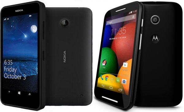 Allnet-Starter D-Netz (Vodafone) mit Nokia Lumia 635 oder Motorola Moto E