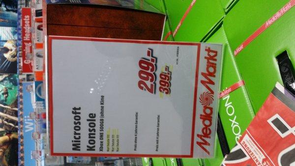 Xbox One 299€ Köln Media Markt am Hbf