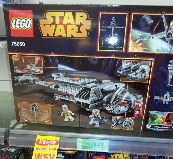Rossmann Kiel LOKAL ? Lego Star Wars B-Wing 75050 für 30 Euro