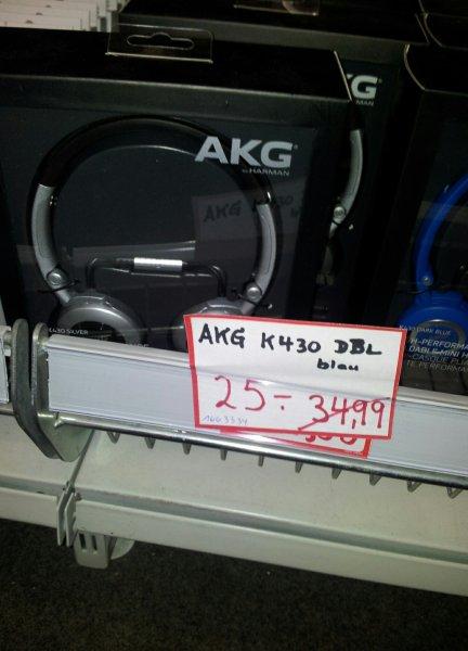 AKG K430 Over-Ear-Stereo-KopfhörermitLautstärkeregler Lokal MM Neu-Uln