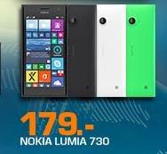 [Saturn] NOKIA Lumia 730 dunkelgrau, grün oder weiß für 179 €