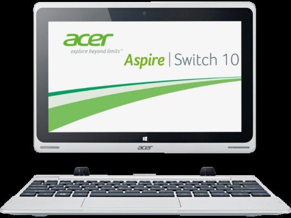 Acer Aspire Switch 10 (NT.L4TEG.004) Tablet/Netbook - 279,- € inkl. Versand (299,- Idealo)