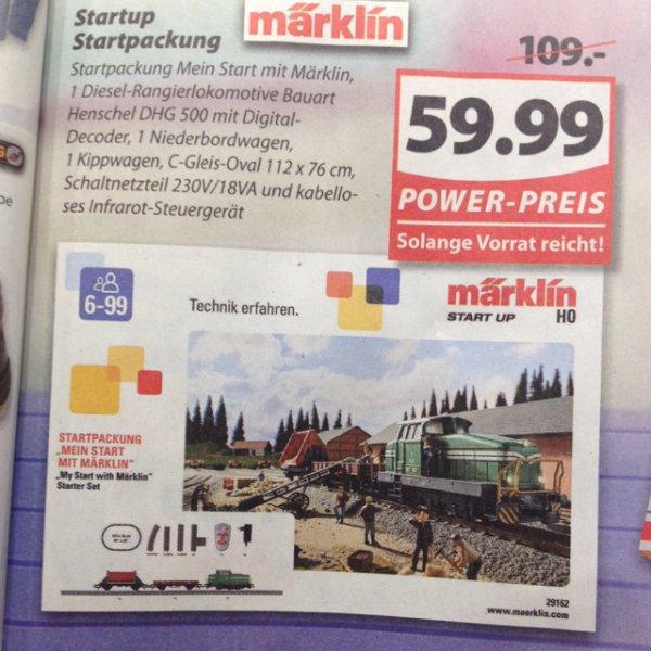 [lokal] Famila Oldenburg: Märklin Startpackung, idealo: 85,60€