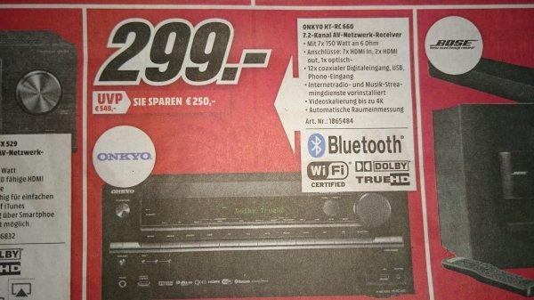 [LOKAL] ONKYO HT-RC660 7.2 AV-Receiver / (fast) ident. mit TX-NR636 im Media Markt Recklinghausen