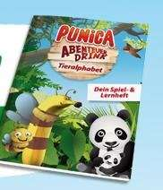 Punica Spiel & Lernheft Gratis