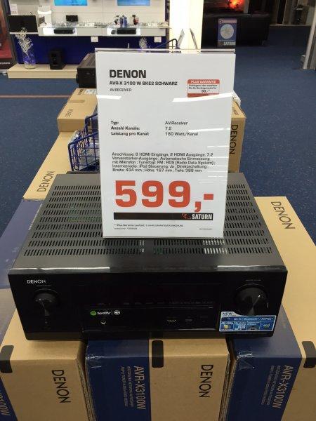 [Lokal Rostock] Denon AVR-X 3100 W für 599 EUR @Saturn KTC