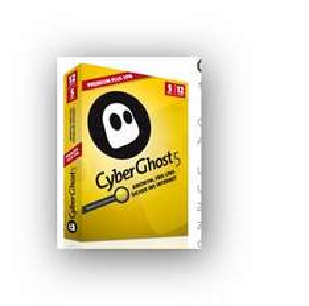Cyberghost VPN Premium Plus - 12 Monate, 5 Geräte