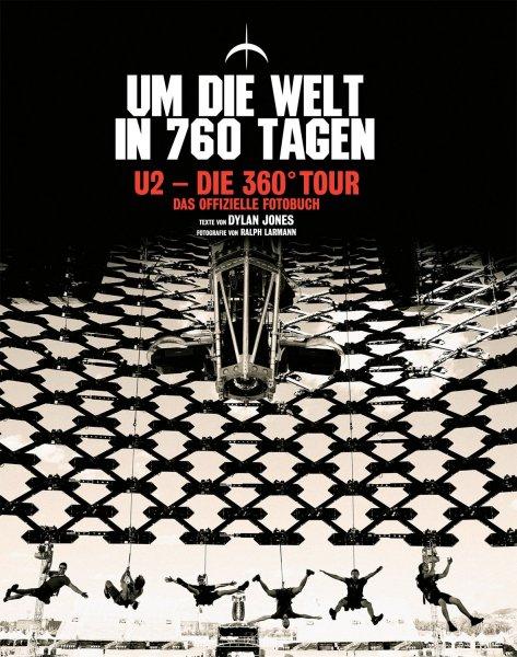 Buch: 'U2: 360° - Um die Welt in 760 Tagen' für 9,99 €