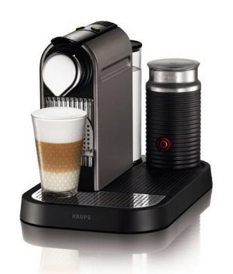 [Amazon.de] Nespresso Citiz and Milk (Titan) + € 70 Cashback (bis 24 Uhr)