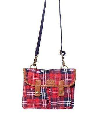 Pepe Jeans Damen Handtasche MONTI BAG in rot oder grün