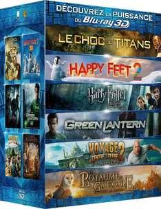 3D Blu-Ray Box (6 Filme) Amazon.fr
